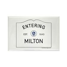 Milton Rectangle Magnet