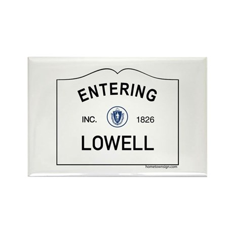 Lowell Rectangle Magnet