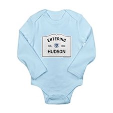 Hudson Long Sleeve Infant Bodysuit
