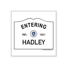 "Hadley Square Sticker 3"" x 3"""