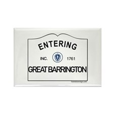 Great Barrington Rectangle Magnet
