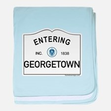 Georgetown baby blanket