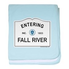Fall River baby blanket