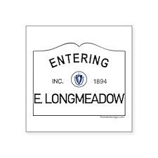 """East Longmeadow Square Sticker 3"""" x 3"""""""