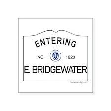 "East Bridgewater Square Sticker 3"" x 3"""