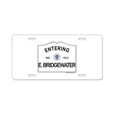 East Bridgewater Aluminum License Plate