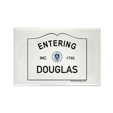Douglas Rectangle Magnet