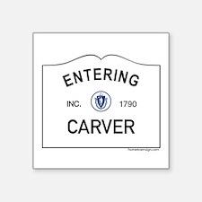 """Carver Square Sticker 3"""" x 3"""""""