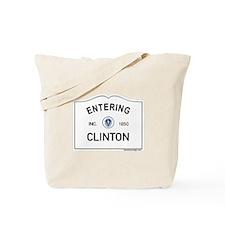Clinton Tote Bag