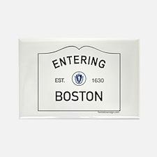 Boston Rectangle Magnet