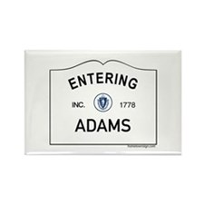 Adams Rectangle Magnet