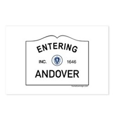 Andover Postcards (Package of 8)