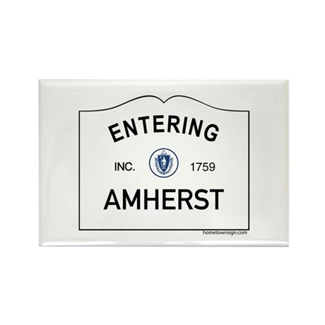 Amherst Rectangle Magnet