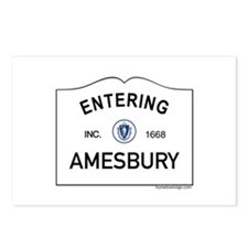 Amesbury Postcards (Package of 8)