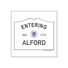 """Alford Square Sticker 3"""" x 3"""""""