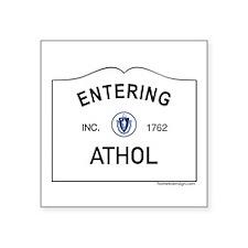 "Athol Square Sticker 3"" x 3"""