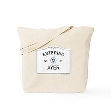 Ayer Tote Bag