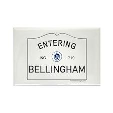 Bellingham Rectangle Magnet