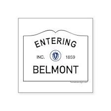 "Bellingham Square Sticker 3"" x 3"""