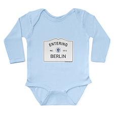 Berlin Long Sleeve Infant Bodysuit