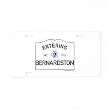 Bernardston Aluminum License Plate