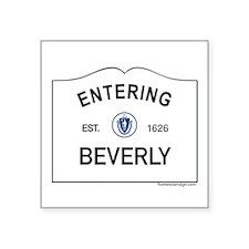 "Beverly Square Sticker 3"" x 3"""