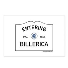 Billerica Postcards (Package of 8)