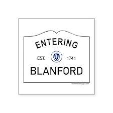 "Blanford Square Sticker 3"" x 3"""