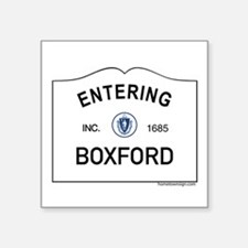 "Boxford Square Sticker 3"" x 3"""