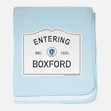 Boxford baby blanket