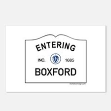 Boxford Postcards (Package of 8)