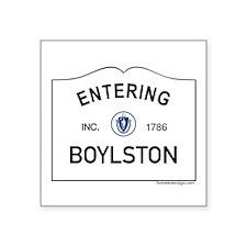 "Boylston Square Sticker 3"" x 3"""