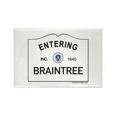 Braintree Rectangle Magnet