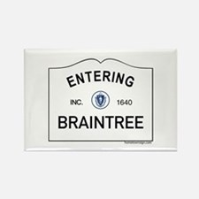 Braintree Rectangle Magnet