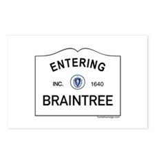 Braintree Postcards (Package of 8)
