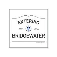 "Bridgewater Square Sticker 3"" x 3"""
