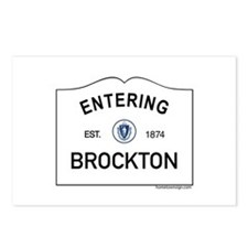 Brockton Postcards (Package of 8)