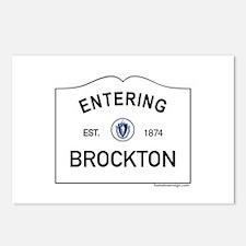 Brockton Postcards (Package of 8)