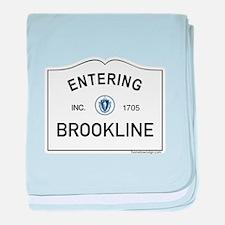 Brookline baby blanket