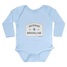 Brookline Long Sleeve Infant Bodysuit