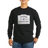Brookline Long Sleeve Dark T-Shirts