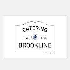 Brookline Postcards (Package of 8)