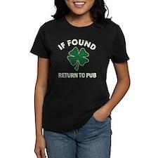 If found return to pub Tee