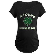 If found return to pub T-Shirt