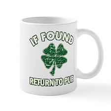 If found return to pub Mug