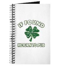 If found return to pub Journal