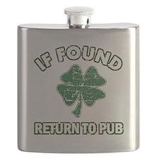 If found return to pub Flask