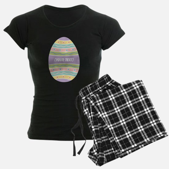 Your Text Easter Egg pajamas
