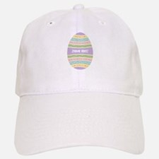 Your Text Easter Egg Baseball Baseball Cap