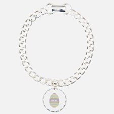 Your Text Easter Egg Bracelet